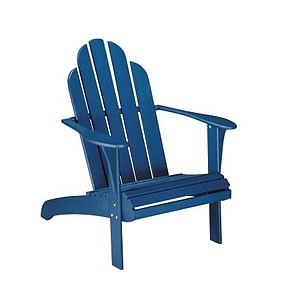 Blue Adirondack Chair Image