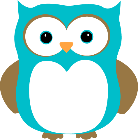 Blue And Brown Owl Clip Art Image Blue O-Blue And Brown Owl Clip Art Image Blue Owl With Blue Eyes And Brown-0