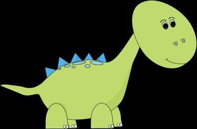 Blue and Green Dinsosaur