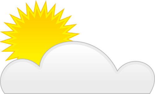 Partly Cloudy Clipart