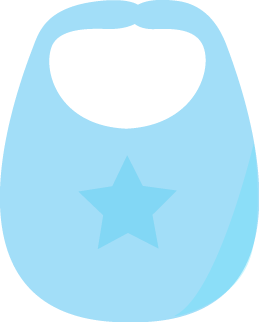 Blue Baby Bib-Blue Baby Bib-12