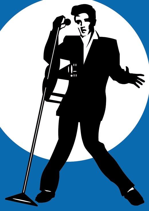 Blue Background Silhouette Elvis Clipart-Blue Background Silhouette Elvis Clipart-4