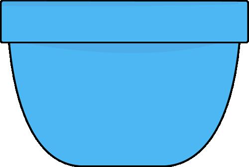 Blue Bowl Clip Art - Blue Bowl Image
