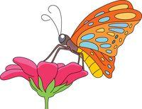 Clipart Of Butterflies