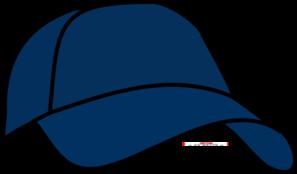 Blue Cap Clip Art
