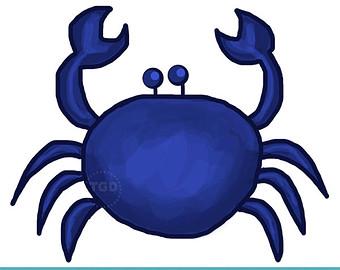 Blue Crab Clip Art