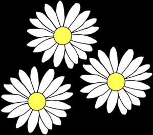Blue daisy flower clipart fre - Clip Art Daisy