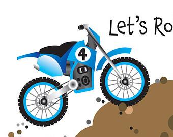 Blue Dirt Bike Clipart - Clipart Kid-Blue Dirt Bike Clipart - Clipart Kid-13