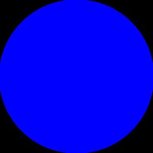 Blue Dot Clip Art