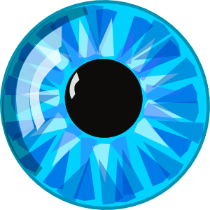 Blue Eye Clip Art