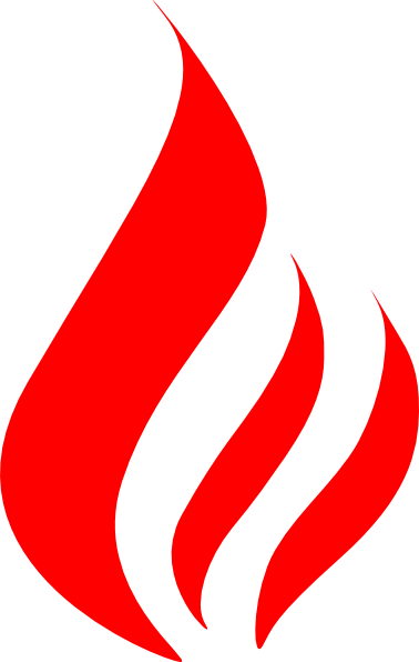 Blue Fire Clipart | Clipart . - Flame Clip Art