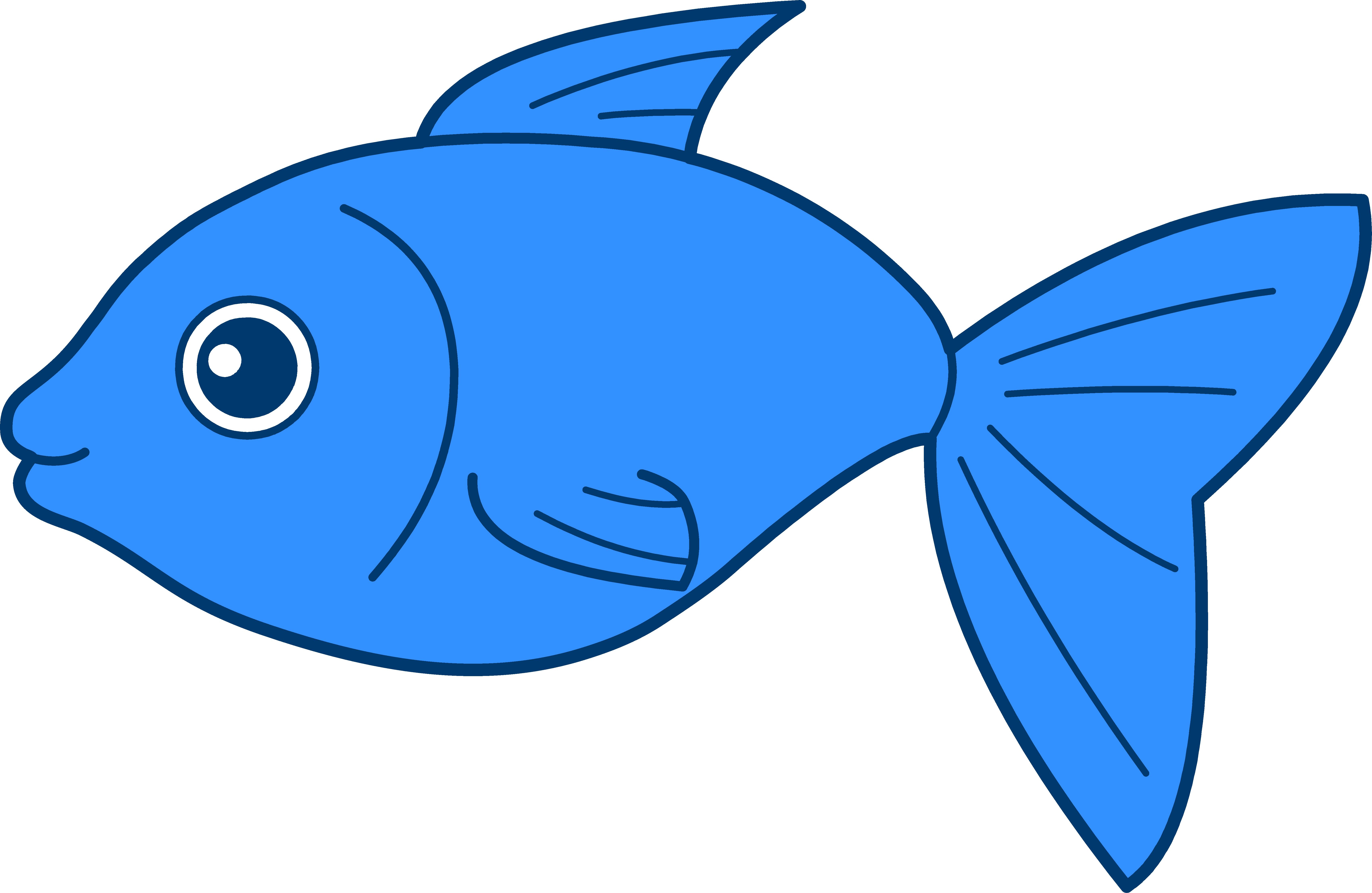 Blue Fish Clip Art | Clipart library - F-Blue Fish Clip Art | Clipart library - Free Clipart Images-1