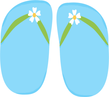 Blue Floral Flip Flops-Blue Floral Flip Flops-10