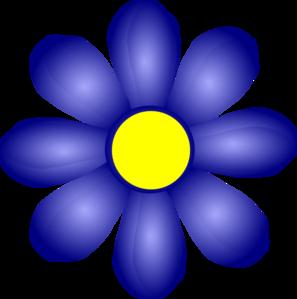 Blue Flower Clip Art-Blue Flower Clip Art-5