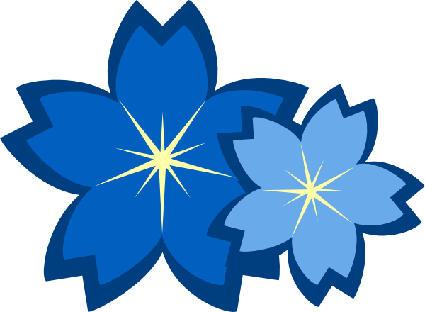 Blue Flowers Clip Art At Clker Com Vecto-Blue Flowers Clip Art At Clker Com Vector Clip Art Online Royalty-6