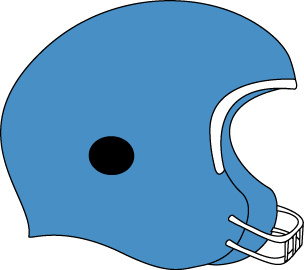 Blue football helmet clip art blue football helmet image
