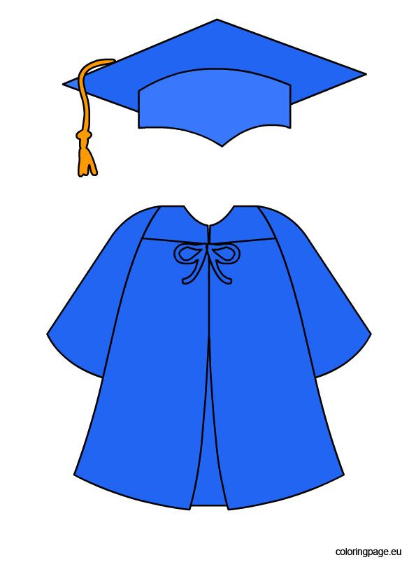 blue-graduation-cap-and-gown