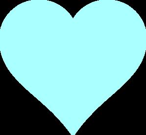 Blue Heart Clip Art At Clker  - Blue Heart Clipart