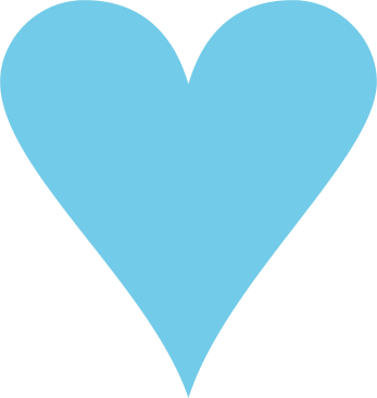 Heart clip art free vector in