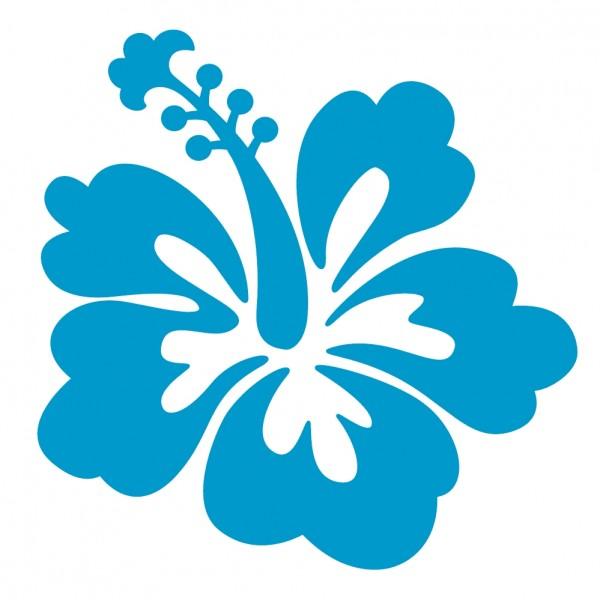 Blue Hibiscus Flower Clipart 30 Hibsicus-Blue Hibiscus Flower Clipart 30 Hibsicus Flower Stickers-0