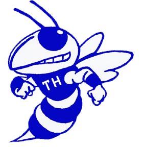 Blue Hornet Clip Art