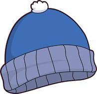 Blue Knit Winter Hat Size: 75 Kb