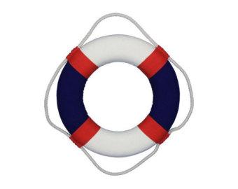 Blue Life Ring Clipart-Blue life ring clipart-1
