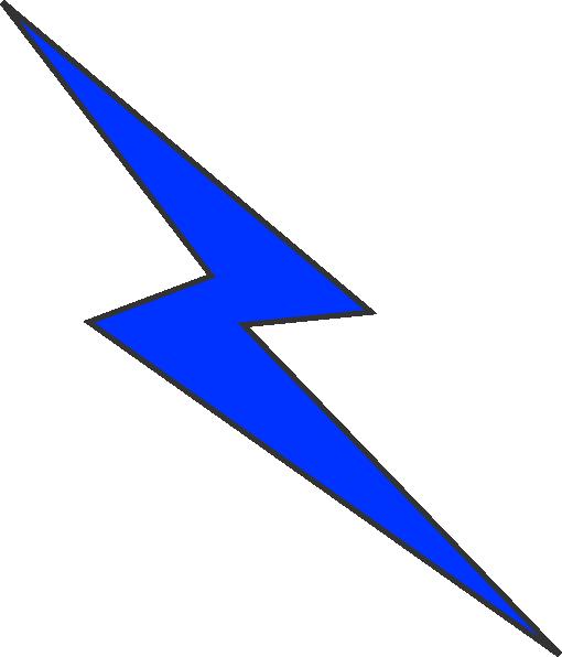 Blue Lightning Bolt Clipart Lightning Png