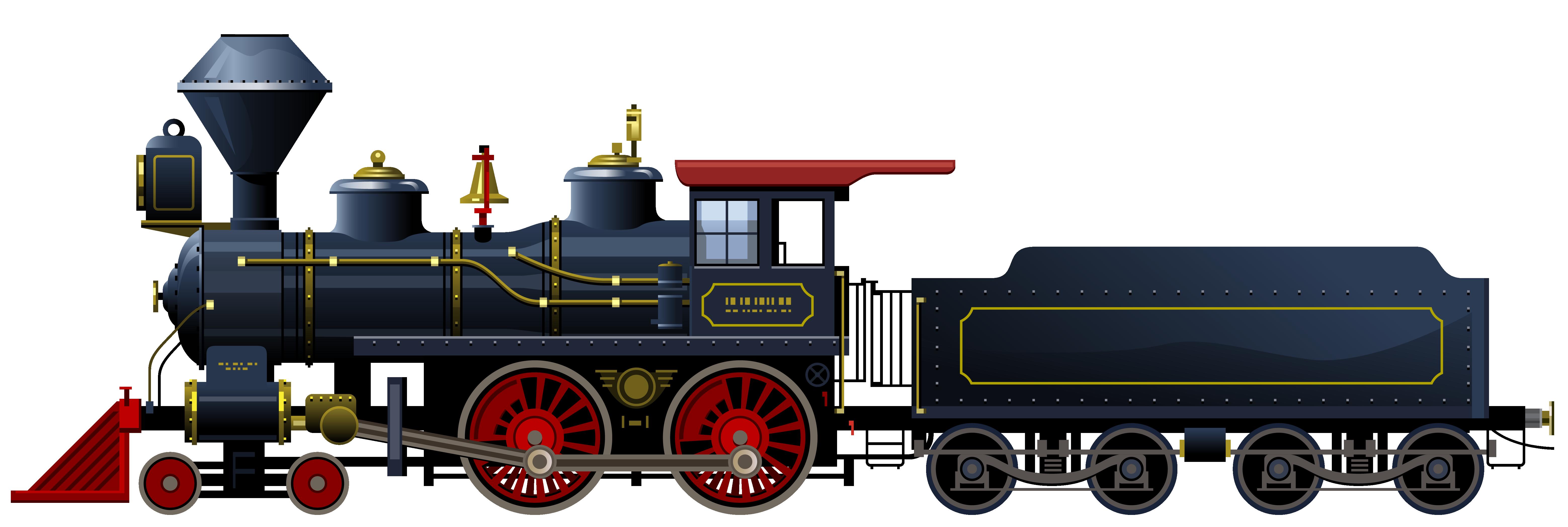 Blue Locomotive PNG Clipart-Blue Locomotive PNG Clipart-3