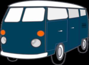 Blue Old Van Clip Art-Blue Old Van Clip Art-17