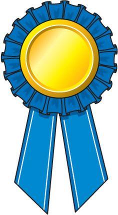 Blue Ribbon Award Ribbons .
