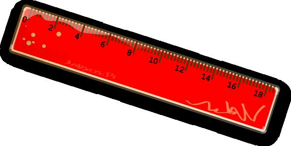 Blue Ruler Clipart