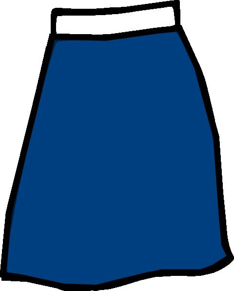 Blue Skirt Clip Art-Blue Skirt Clip Art-1