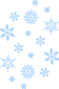 Blue Snow Falling Clip Art At - Snow Clip Art