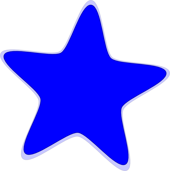 Blue Star Clip Art At Clker Com Vector C-Blue Star Clip Art At Clker Com Vector Clip Art Online Royalty Free-4