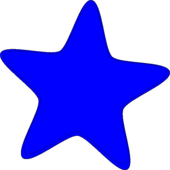 Blue Star Clip Art At Clker Com Vector Clip Art Online Royalty Free