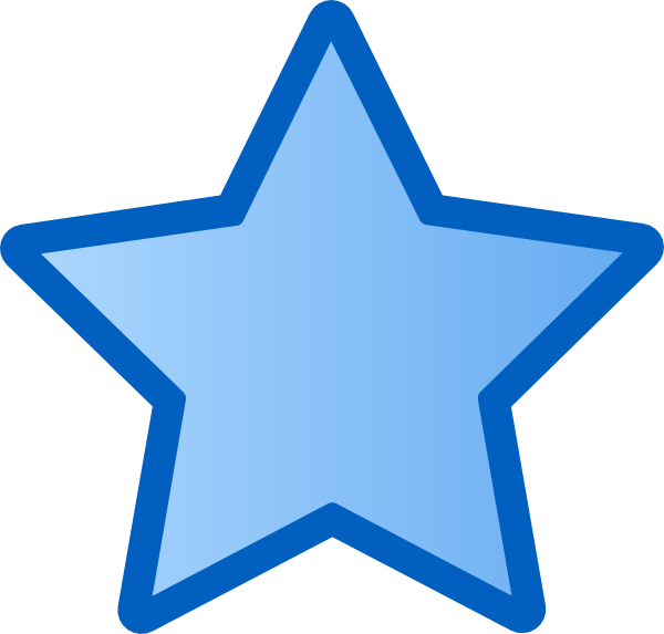 Blue Star Clip Art At Clker Com Vector C-Blue Star Clip Art At Clker Com Vector Clip Art Online Royalty Free-2