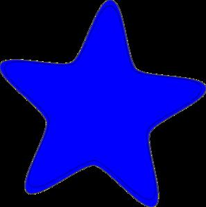Blue Star Clip Art Icon Vector Download Vector Clip Art Online