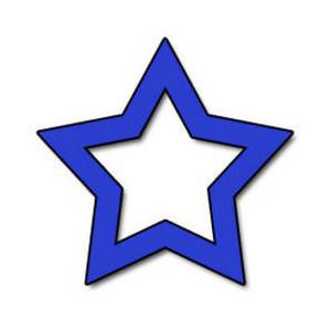 Blue Star Clipart; Clip Art Of Blue Star - ClipArt Best ...