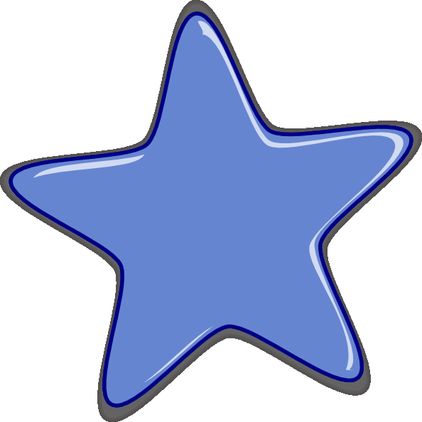 Blue Star Clipart - ClipArt Best