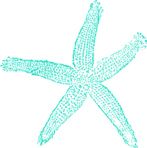 ... Blue Starfish clip art - vector clip art online, royalty free .. ...