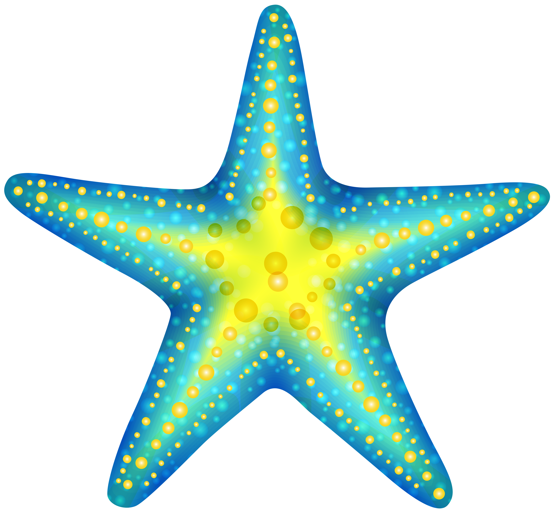 Blue starfish clip art web cl - Clip Art Starfish