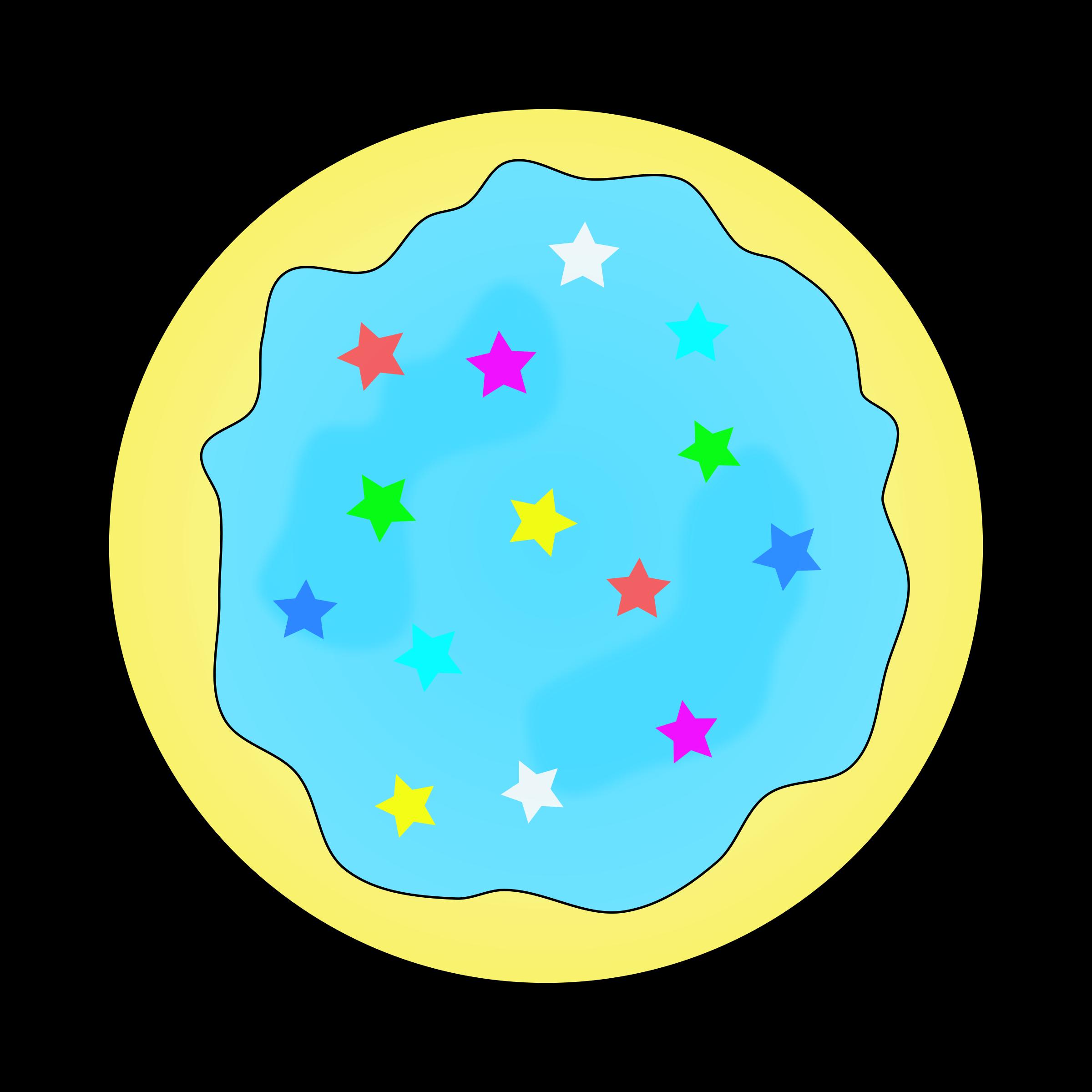Blue Sugar Cookie