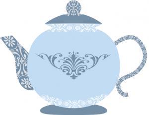 Blue Teapot Clip Art-blue teapot clip art-16