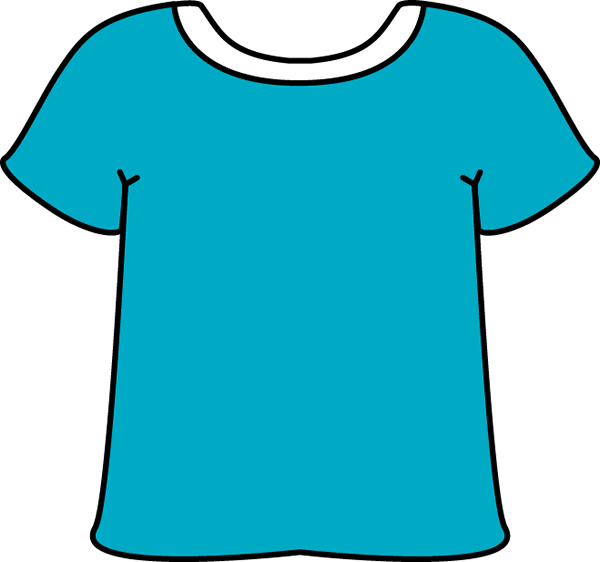 T shirt clip art of a shirt c