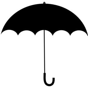 Blue umbrella clipart free clipart images clipartbold