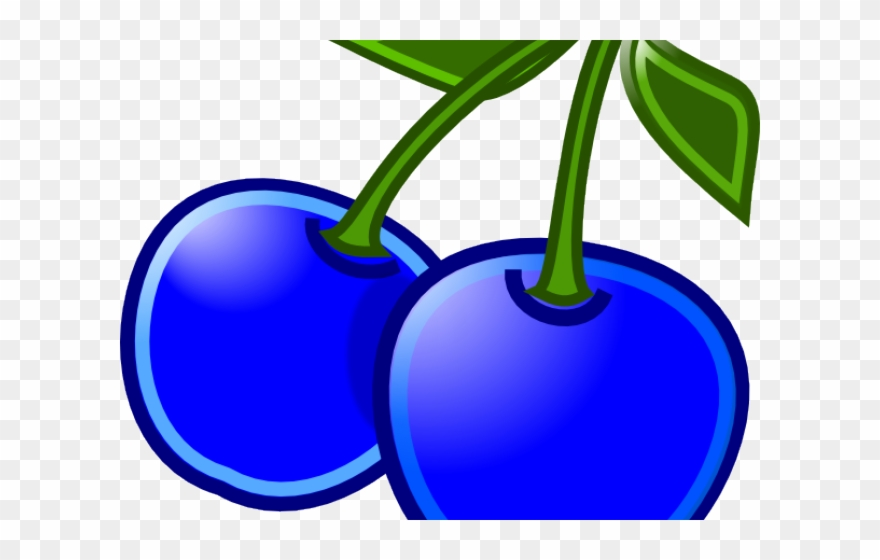 Blueberry Clipart Blueberry Tree - Clip Art Of Blue Berry - Png Download