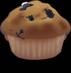 Blueberry Muffin Clip Art