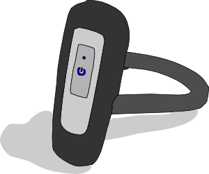 Bluetooth Earpiece Clip Art