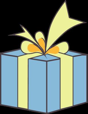 blur clipart - Gift Box Clipart